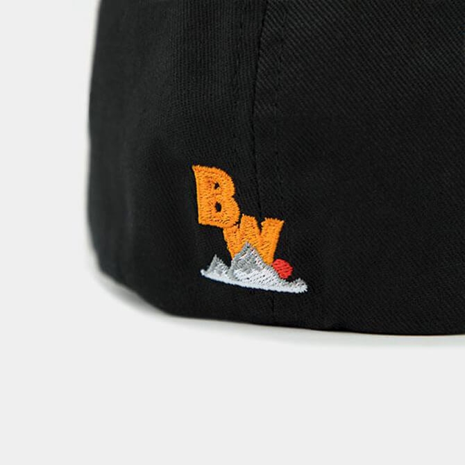 Brave Wilderness hat in black backside