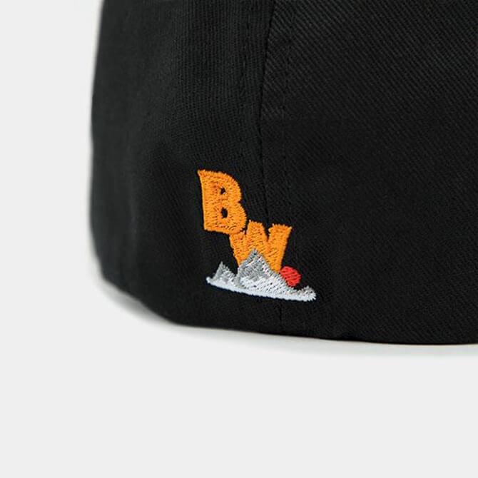 Brave Wilderness hat in black backside